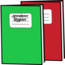download Attendance Register clipart image with 135 hue color