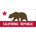 California Banner Clipart A Solid