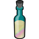Bottle Of Colored Sand
