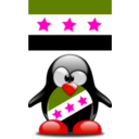 download Syrian Tux clipart image with 315 hue color