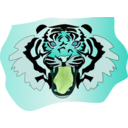 download Tigre clipart image with 135 hue color