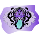 download Tigre clipart image with 225 hue color