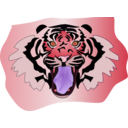 download Tigre clipart image with 315 hue color