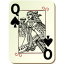 Guyenne Deck Queen Of Spades