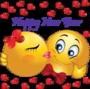 Happy New Year Smiley Emoticons