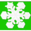 download Snowflake clipart image with 45 hue color
