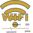 download Wifi clipart image with 45 hue color