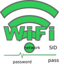 download Wifi clipart image with 135 hue color