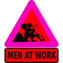 download Men At Work clipart image with 315 hue color
