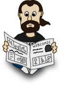 Comic Characters Newspaper