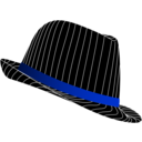 download Fedora Hat clipart image with 225 hue color