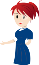 Teacher Blue Dress