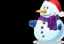 Snowman Shaded