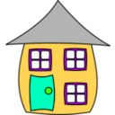 download House001 clipart image with 45 hue color