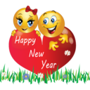 Happy New Year Smiley Emoticons