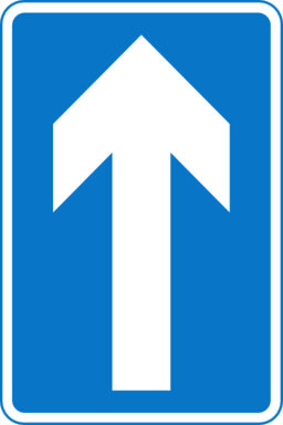 Roadsign One Way