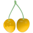download Cherry clipart image with 45 hue color