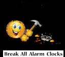 Break Alarm Clock Dream Smiley Emoticon