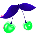 download Cherry clipart image with 135 hue color