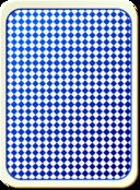 Card Backs Grid Blue