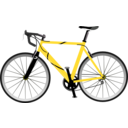 Yellow Speed Bike