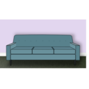 download Living Room Scene clipart image with 135 hue color