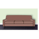 download Living Room Scene clipart image with 315 hue color