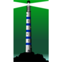 download Lighthouse clipart image with 225 hue color