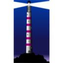 download Lighthouse clipart image with 315 hue color
