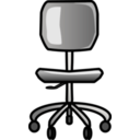 download Office Chair clipart image with 45 hue color