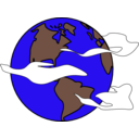 Crudely Drawn Globe