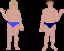 Human Body Man And Woman