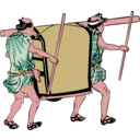 download Palanquin clipart image with 315 hue color