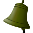 download Bell clipart image with 45 hue color