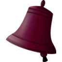 download Bell clipart image with 315 hue color