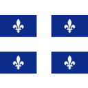 Flag Of Quebec Canada