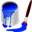 Color Bucket Blue
