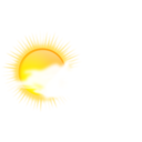 Weather Icon Sunny To Cloudy