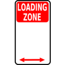 Sign Loading Zone
