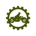 download Oldtimer Motorcycle Mechanic Part 2 clipart image with 45 hue color