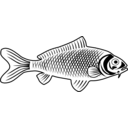 download Fish clipart image with 225 hue color