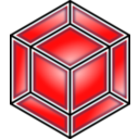 Hyper Cube Red