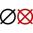 Icon Indicating Broken Or Unavailable Status
