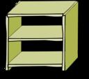Comic Style Shelves
